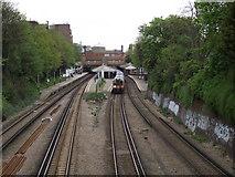 TQ2475 : Putney Station by Anthony Vosper