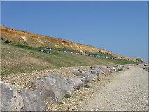 SZ2492 : Beach Huts, Barton-on-Sea by Alex McGregor