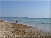 SZ2492 : Beach, Barton-on-Sea by Alex McGregor