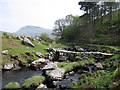 SH6413 : Footbridge across the Afon Arthog by Rudi Winter