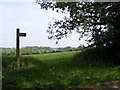 TM2764 : Footpath to Framlingham College by Adrian Cable