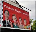 J3477 : Coca-Cola 125th anniversary poster, Belfast by Albert Bridge