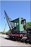 TL8928 : 4-Wheel Grafton Steam Crane No 1569 by Ashley Dace