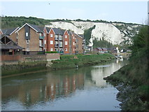 TQ4210 : River Ouse at Lewes by Malc McDonald