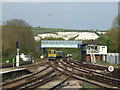 TQ4109 : Railway junction at Lewes by Malc McDonald