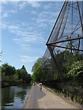 TQ2783 : Regent's Canal, beside the Snowdon Aviary by Gareth James
