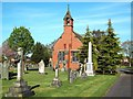 NY3958 : Chapel at Stanwix Cemetery by Rose and Trev Clough