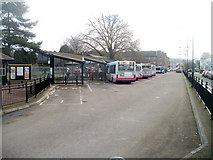 SS7597 : Neath Bus Station by Jaggery