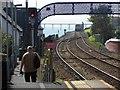 J4791 : Railway line, Whitehead by Kenneth  Allen