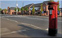 J3574 : Pillar box, Belfast by Albert Bridge