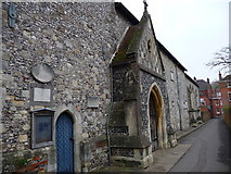 SU4828 : Winchester - St Michaels Church by Chris Talbot