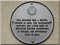 TR0161 : Plaque on Wall near Faversham Club by David Anstiss