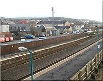 SS7597 : Neath railway station by Jaggery