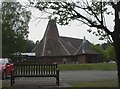 SZ0196 : Broadstone, crematorium by Mike Faherty