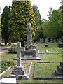 SZ0196 : Broadstone Cemetery, Wallace Memorial by Mike Faherty