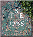 SD5786 : Date stone, Crosslands Farm by Karl and Ali