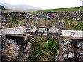 NT9613 : Spring animal trap over sheepfold entrance by Andrew Curtis
