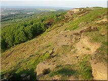 NZ5619 : Eston Moor ridge view by Peter S
