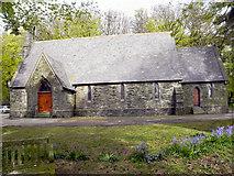 SC4384 : Christ Church, Laxey by David Dixon