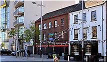 J3474 : Nos 35-37 Queen's Square, Belfast by Albert Bridge