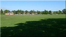 SJ8487 : Gatley Cricket Club by Geoff Royle