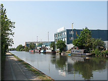 TQ2282 : Grand Union Canal near Old Oak Common by Stephen Craven