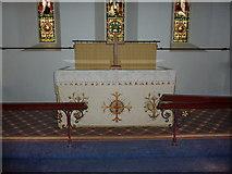 SD2296 : Holy Trinity Church, Seathwaite, Altar by Alexander P Kapp