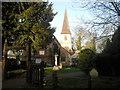 TQ4871 : The churchyard of St James, North Cray by Marathon
