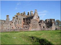 NY0265 : Caerlaverock Castle by David Brown