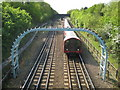 TQ4488 : Newbury Park: Central Line by Nigel Cox
