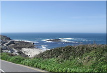 SW3526 : Looking towards the beach at Sennen Cove by nick macneill