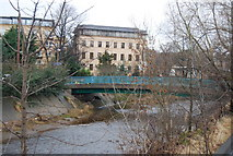 NT2273 : Bridge over the Water of Leith near Murrayfield by N Chadwick