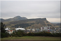 NT2673 : Salisbury Crags and Arthur's Seat by N Chadwick