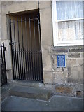 NZ0516 : Blue plaque, 33 Galgate in Barnard Castle by Stanley Howe