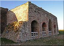 NU1341 : Lime Kilns, Lindisfarne Castle, Holy Island by wfmillar