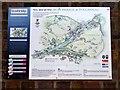 SJ6703 : Information Board Tollhouse and Ironbridge by Christine Matthews
