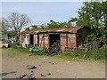 SO2478 : Railway van sheds by Jonathan Wilkins