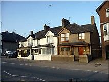 SH5638 : Houses, Porthmadog, Gwynedd by Christine Matthews