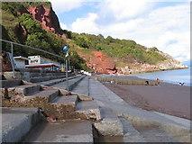 SX9265 : Oddicombe Beach Devon by John Jennings