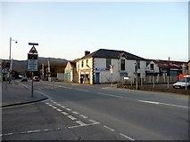 SH5639 : Gated Level Crossing, Porthmadog, Gwynedd by Christine Matthews