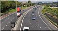 J3380 : The M2 (hill section), Belfast (3) by Albert Bridge