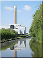 SJ8743 : Incinerator and Chimney by Mike Todd