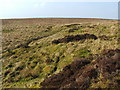 NS4379 : Moorland disturbed by former limestone industry by Lairich Rig
