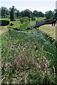 SK9226 : River Witham, Easton Walled Gardens (1) by Kate Jewell