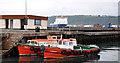 D4202 : Two ferries at Ballylumford by Albert Bridge