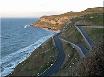 SH7783 : Hairpin bends on Marine Drive by Row17