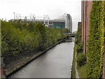SJ8196 : Bridgewater Canal, Old Trafford by David Dixon
