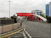 SJ8196 : Trafford Road Bridge by David Dixon