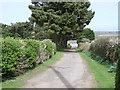 SW4224 : Entrance to Choone Farm,  near St. Buryan by nick macneill