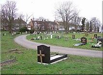 TQ3473 : Camberwell Old Cemetery by Derek Harper